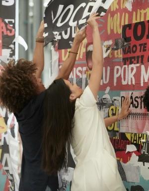 Bastidores da campanha 'Eles por Elas' do GNT com a ONU Mulheres