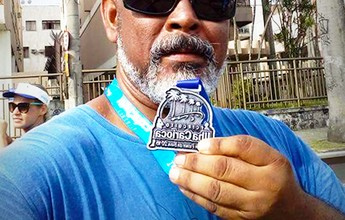 Sem frituras e cerveja, carioca elimina 25kg e dá exemplo ao filho na corrida