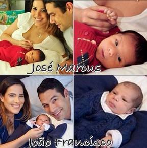 Zilu posta foto de Wanessa, marido e os filhos (Foto: Instagram / Reprodução)