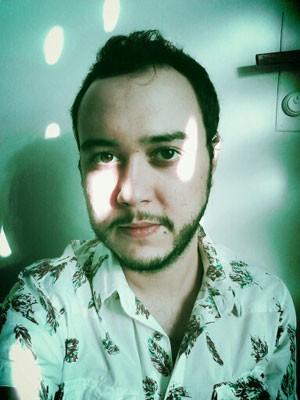 O músico Leonardo Barbalho, 33, que postou uma reclamação sobre as vendas de passagens pela Tam (Foto: Arquivo pessoal)