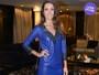 Look do dia: Patricia Poeta aposta em vestido de couro e exibe corpo perfeito