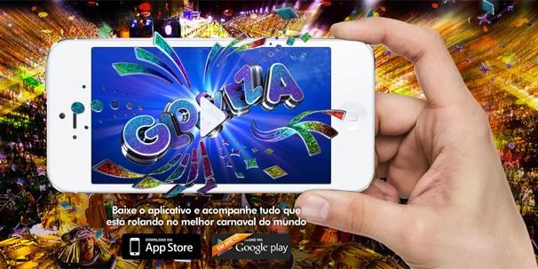 No Globeleza, o usuário pode se informar sobre o local, dia e horário dos maiores blocos de carnaval, da quadra das escolas de samba e ordem dos desfiles, bem como chegar aos locais (Foto: Rede Globo)