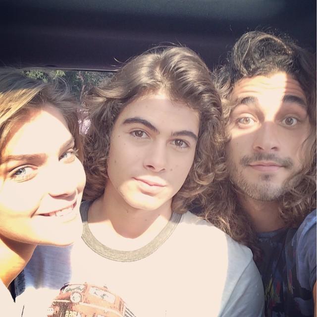 Isabella Santoni, Rafael Vitti e Gabriel Reif (Foto: Reprodução/Instagram)
