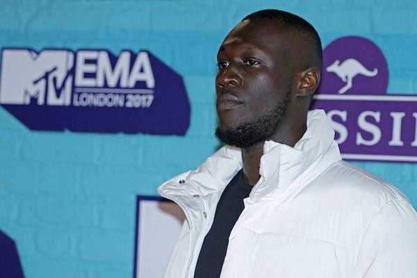 O rapper inglês Stormzy  (Foto: Getty Images)