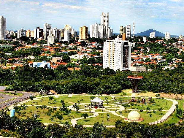 Área onde fica o Parque Mãe Bonifácia serviu de abrigo para os escravos fugitivos (Foto: Marcos Bergamasco/Secom-MT)