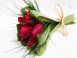 Para os românticos, a aposta de flores fica entre os tons rosados e avermelhados (Foto: Luciene Andrade/Arquivo Pessoal)
