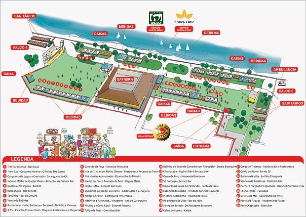 Festa do 'Botecão' será na área verde do Álvares Cabral e vai contar com dois palcos (Foto: Divulgação/ Roda de Boteco)
