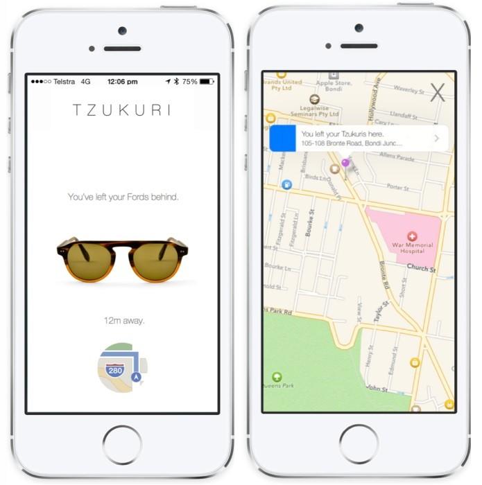 Tzukuri anunciou óculos com rastreador (Foto: Divulgação/Tzukuri)