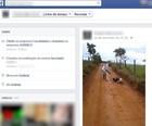 Menor posta foto de assassinato em rede social (Reprodução/ Facebook)