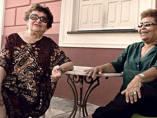 As irmãs Gilda e Gilma Marques contam a trajetória da família circense. (Foto: Divulgação/Agência Pará)