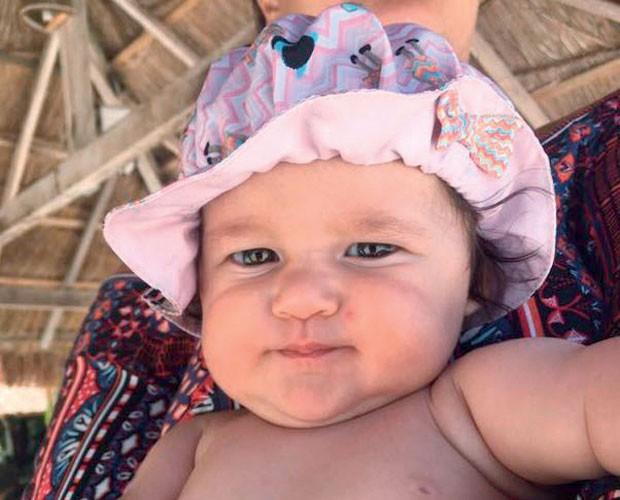 … e a pequena Madalena não é a cara da mãe? (Foto: Instagram)