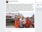 Resgate de cadela jogada em canal de Macapá mobiliza bombeiros