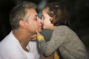 Fábio Assunção posa com a filha Ella Felipa, de cinco anos (Foto: Raphael Dias/Gshow)