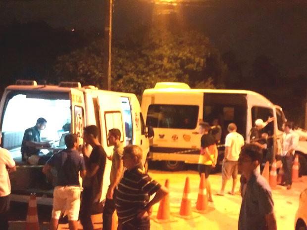 Blitz da Lei Seca aconteceu em Cidade Verde, na Zona Sul de Natal (Foto: Capitão Styvenson Valentim)