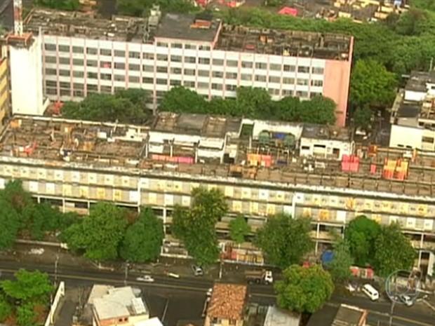 Terreno no Engenho Novo foi ocupado por mais de 5 mil famílias (Foto: Reprodução/TV Globo)