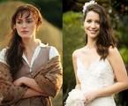 'Orgulho e paixão', próxima novela das 18h, será inspirada em várias obras de Jane Austen. Nathalia Dill será Elizabeta, a protagonista da história. A personagem de 'Orgulho e preconceito' foi interpretada por Kira Knightley no cinema | Reprodução