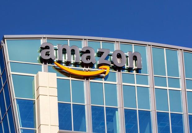 Escritório da Amazon em Santa Clara, na Califórnia (EUA) (Foto: Ken Wolter /Shutterstock)