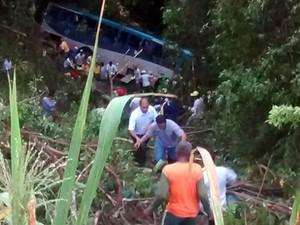 Uma pessoa morreu e outras 33 ficaram feridas (Foto: Viviane Moreira / Site O Povo News)