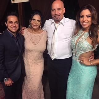 Thammy, Gretchen, Carlos e Andressa Ferreira (Foto: Reprodução/ Instagram)