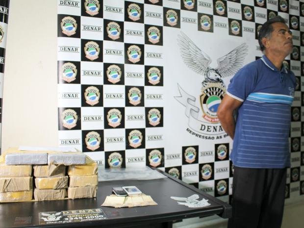 Carreteiro diz que filho preso propôs transporte da droga durante visita em presídio (Foto: Gabriela Pavão/ G1 MS)