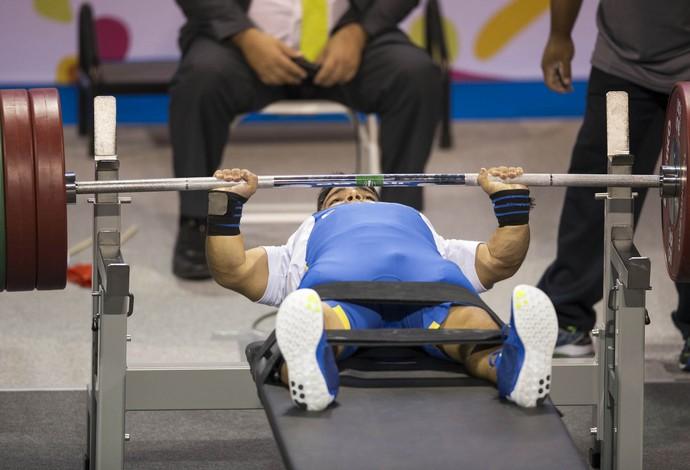Luciano Dantas bronze Parapan Toronto levantamento de peso (Foto: Daniel Zappe/mpix/cpb)