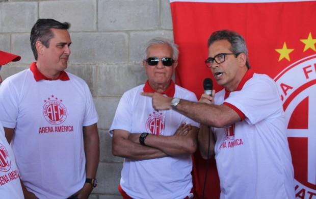Beto Santos Jussier Santos Hermano Morais América-RN