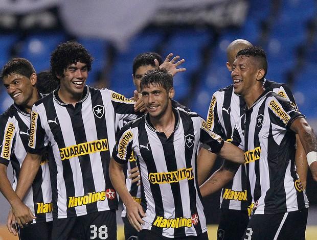 Fellype Gabriel gol Botafogo (Foto: Wagner Meier / AGIF)