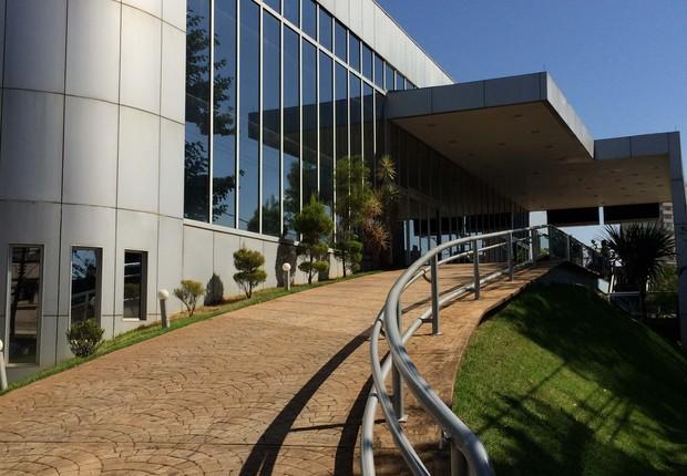 Entrada do Hospital São Lucas, em Ribeirão Preto (Foto: Divulgação)