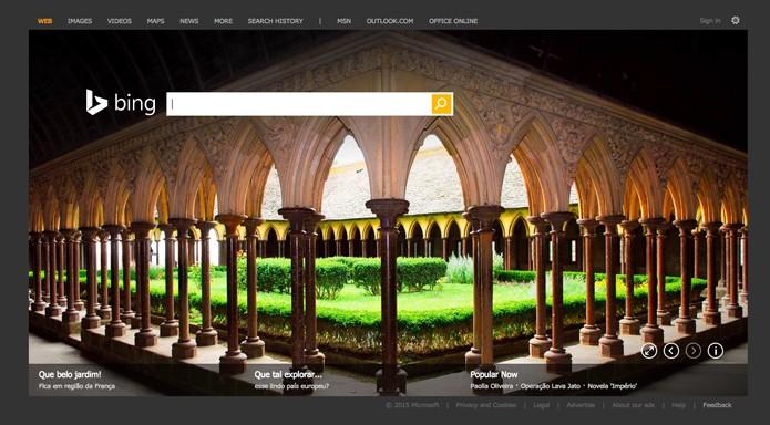 Bing (Foto: Reprodução/André Sugai)