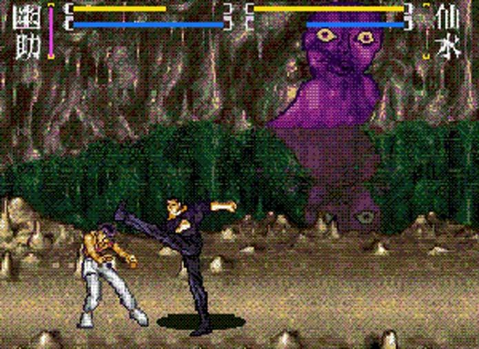 Super Nintendo teve mais de um Yu Yu Hakusho (Foto: Reprodução/SNES Mega)
