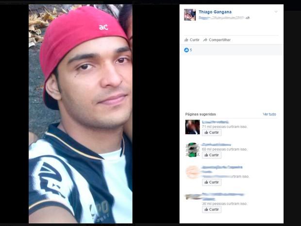 Turista mineiro morre afogado há uma semana do aniversário (Foto: Reprodução/Facebook)