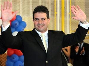 Prefeito de São José de Ribamar Gil Cutrim (PMDB) (Foto: De Jesus / O Estado)