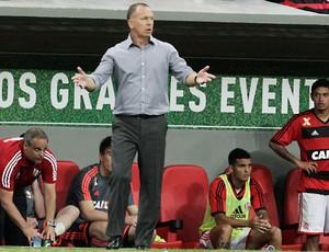Mano Menezes, Flamengo x Vasco' (Foto: Jorge William/Agência O Globo)