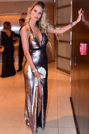 Yasmin Brunet em festa em São Paulo (Foto: Leo Franco/ Ag. News)