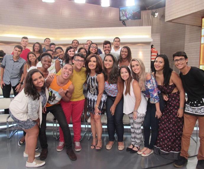 Plateia do 'Encontro' com a Fátima  (Foto: Priscilla Massena/Gshow)