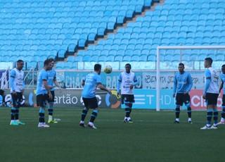 Treino do Grêmio (Foto: Eduardo Moura/GloboEsporte.com)