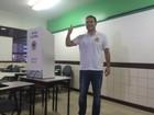 Eleito governador de Alagoas no 1º turno, Renan Filho vota nesta manhã