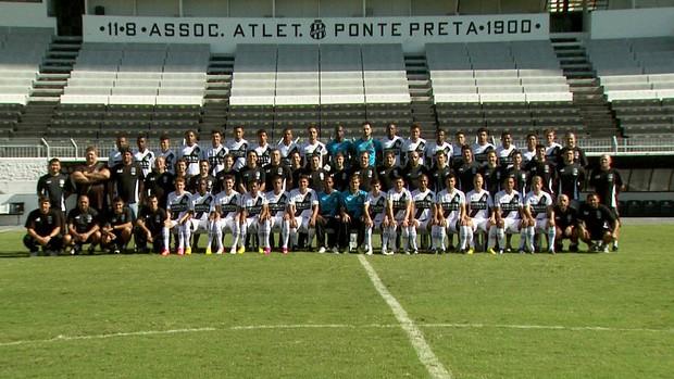 Foto elenco Ponte Preta Ponte Macaca (Foto: Carlos Velardi/ EPTV)