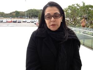 Guadalupe diz ter acompanhado últimos momentos de Dominguinhos (Foto: Letícia Macedo/G1)