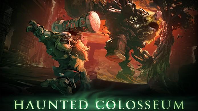 Evento de Halloween de DOTA 2 traz Haunted Colosseum, mas alguns usuários ainda esperavam por Diretide (Foto: Divulgação/Valve)
