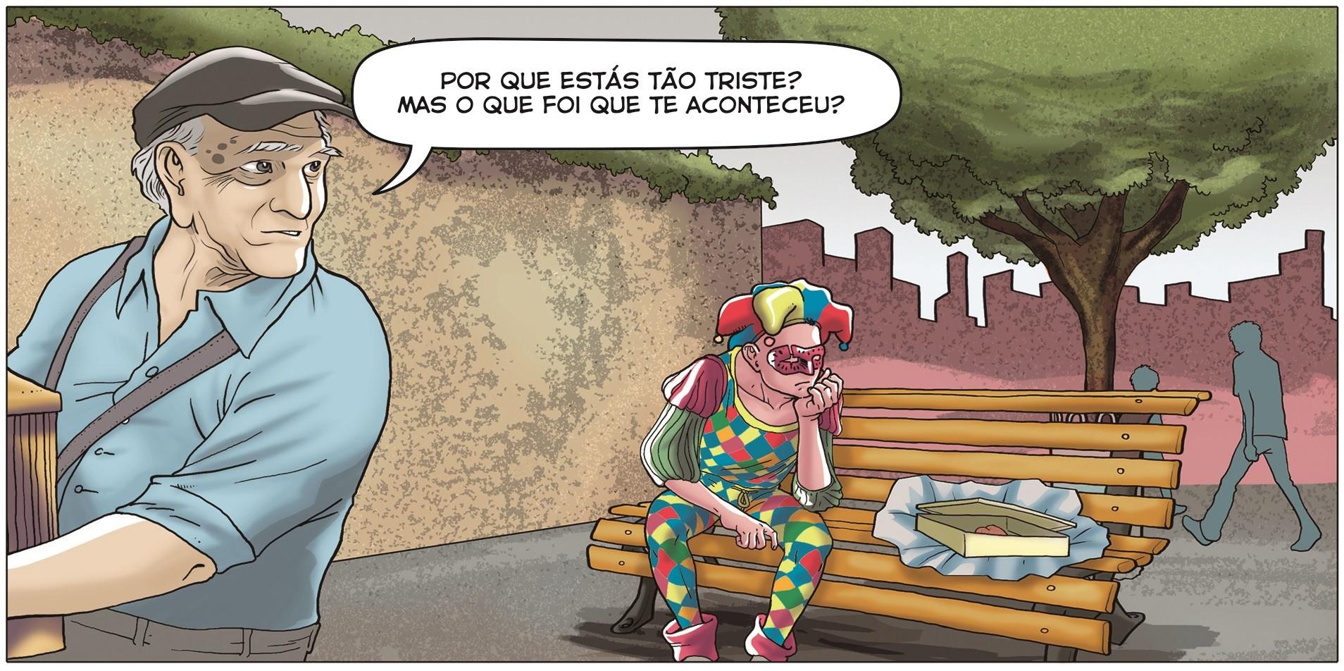 (Foto: Marcelo Saravá e Marjory Abuleac (roteiro), André Leal (arte), Omar Viñole (cores) )