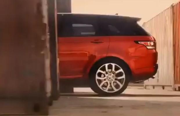 Range Rover Sport teaser (Foto: Reprodução)