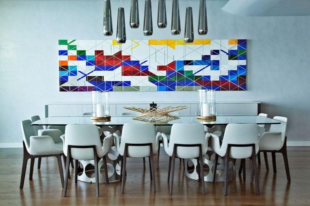 Apartamento com decoração contemporânea em Portugal (Foto: Divulgação)