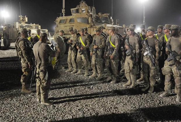 retirada de soldados americanos do Afeganistão (Foto: U.S. Army, Staff Sgt. Michael Behlin/AP)