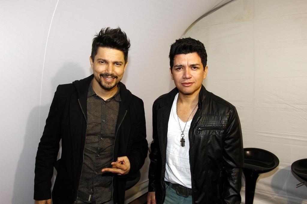 Zé Henrique e Gabriel (Foto: Paduardo /Phábrica de Imagens/Divulgação)