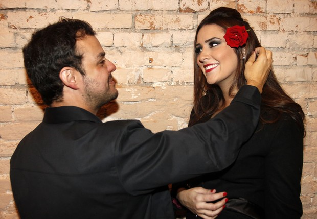 Tamires e Adrilles (Foto: Celso Tavares / EGO)