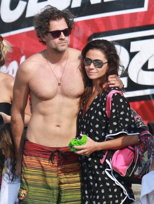 Giovanna Antonelli e Leonardo Nogueira (Foto: AgNews)