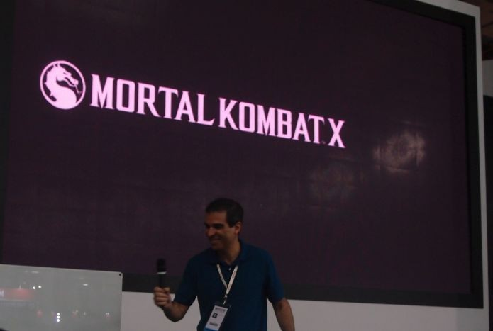 Ed Boon, o criador de Mortal Kombat, esteve na BGS em São Paulo (Foto: Pedro Zambarda/TechTudo) (Foto: Ed Boon, o criador de Mortal Kombat, esteve na BGS em São Paulo (Foto: Pedro Zambarda/TechTudo))