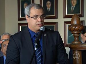 Antônio Barros, delegado (Foto: Reprodução/ TV Globo)
