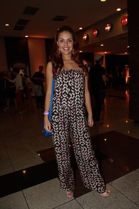 Paloma Bernardi em pré-estreia do filme 'Crô' em São Paulo (Foto: Cláudio Augusto/ Foto Rio News)